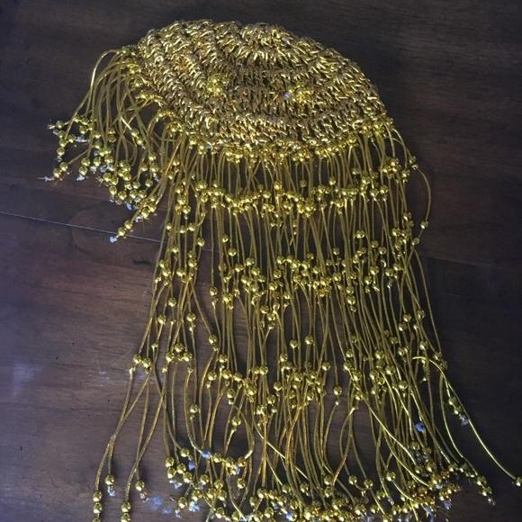 Beaded Cleopatra Wig